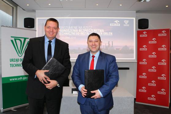 Podpisanie umowy o współpracy pomiędzy UDT a PKN Orlen – 17 grudnia, Warszawa
