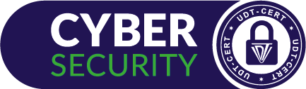 logo cyber security udt cert